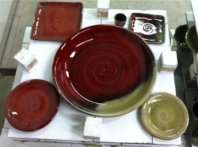 Gas Firing Stoneware Pottery At Cone 10 Natural